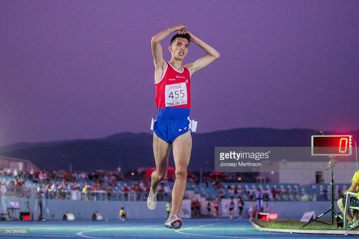 Elzan Bibić osvojio evropsko zlato u Tbilisiju na 3000 metara i izborio polufinale trke na 800 metara