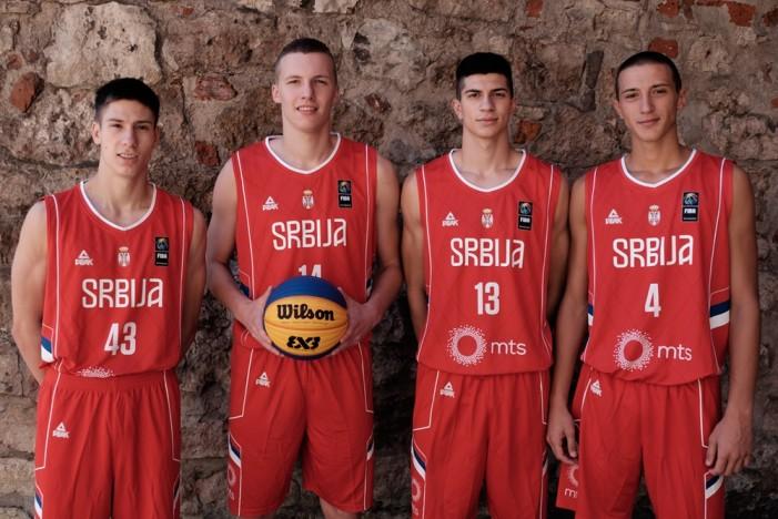 """Juniorska reprezentacija Srbije u basketu """"3 na 3"""" (do 18 godina) obezbedila učešće na EP"""