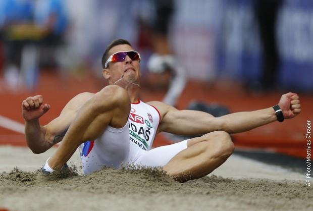 Dudaš drugi posle 5 disiplina u desetoboju na Evropskom prvenstvu u Amsterdamu