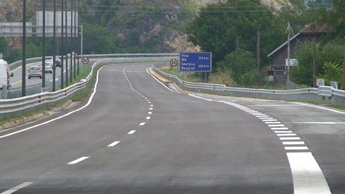 U rad puštena deonica motoputa od Kragujevca do Batočine