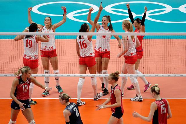 Odbojkašice Srbije pobedile veliki Ameriku pa igraju sa Kinom za zlato
