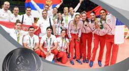 Odbojkašice Srbije osvojile srebro na OI u RIU