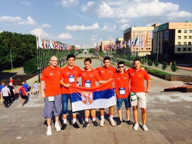 Srpski srednjoškolci osvojili tri medalje na informatičkoj olimpijadi u Kazanju