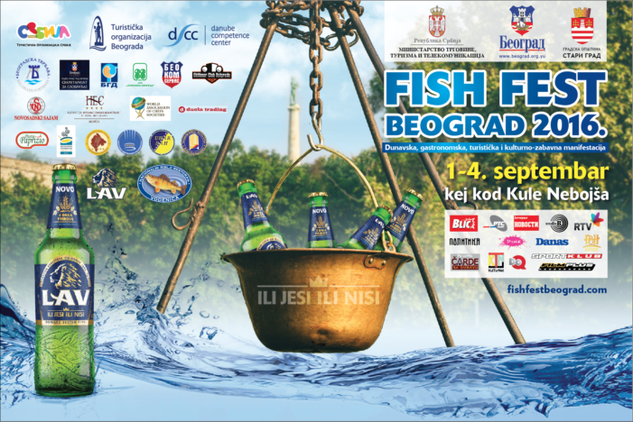 Jubilarni 10. Fish Fest Beograd od 1-4. septembra 2016.