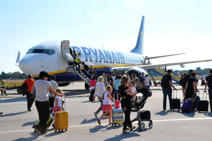 Avio-kompanija Ryanair otpočela redovnu liniju na relaciji Niš-Berlin
