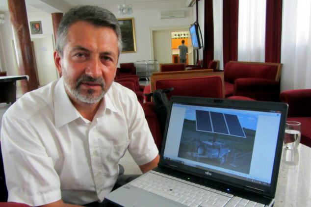 Sunce zaliva povrće – Mobilni robotizovani solarni elektrogenerator