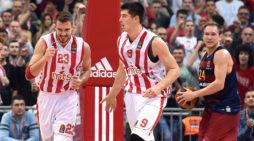 Crvena Zvezda pobedila Barselonu 76:65
