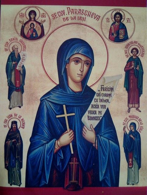 Sveta Majka Paraskeva – Sveta Petka