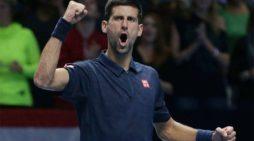 Novak Đoković odličan na startu završnog turnira u Londonu