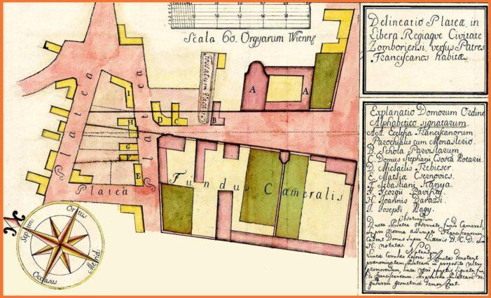 Urbanistička mapa jedne somborske četvrti iz 1774. godine krije značajne podatke